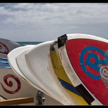 Surf's not up - Waikiki Beach, Oahu