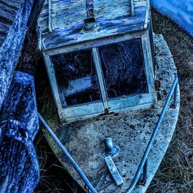 my previous HDR boat picture that i have  edited more