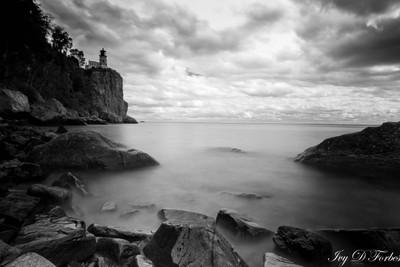 Split Rock Lighthouse (B&W)