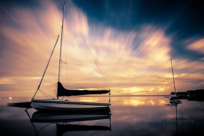 Sailboats Long exposure