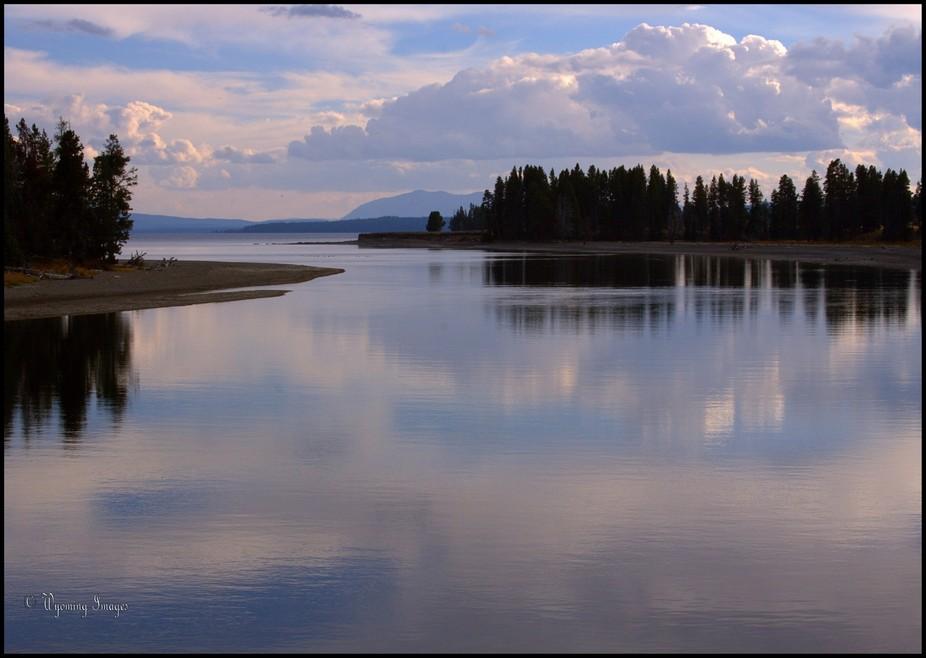 Yellowstone River from Fishing Bridge