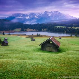 The small wooden sheds above Geroldsee amongst dew covered rolling hills (Buckelwiesen is the Bavarian term, go figure) have probably seen thousa...