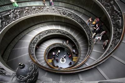 Vatican Museum Stairway