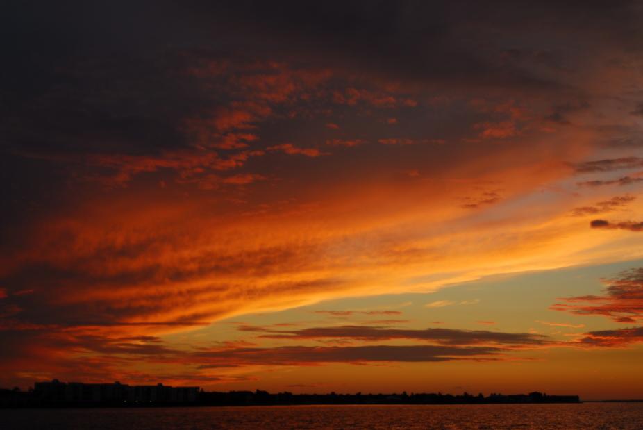 sunset Punta Gorda