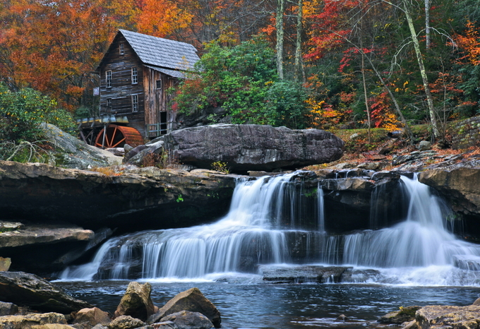 Falling Water by tra rader - The Magic Of Moving Water Photo Contest