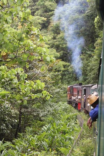 Train in Madagascar