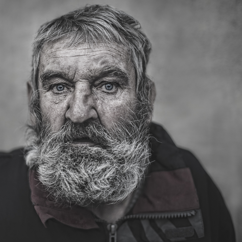 Poor by przemyslawchola - Beards and Mustaches Photo Contest