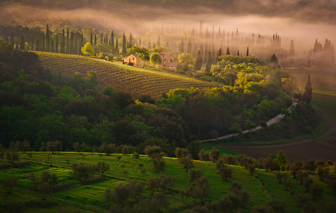 Somewhere in Tuscany by przemyslawchola - Alluring Landscapes Photo Contest