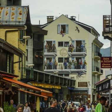 Colourful and vibrant, Chamonix is a beautiful town