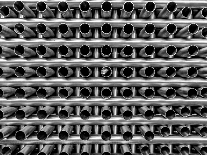 Pipes by Rorysart - Metallic Matter Photo Contest