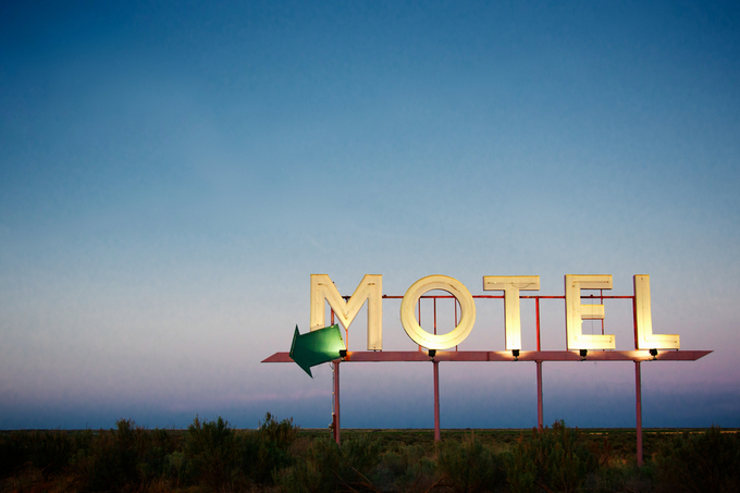 Hotel Nowhere by kenmcall - Letters And Words Photo Contest