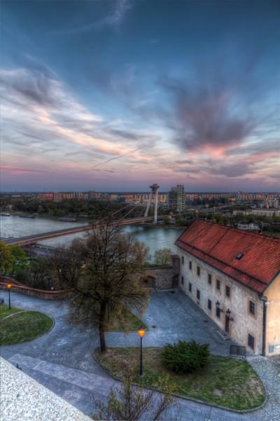 Bratislava Bridge View