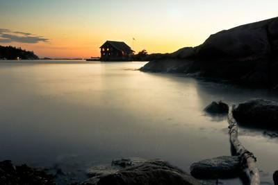 Sundown in Norway