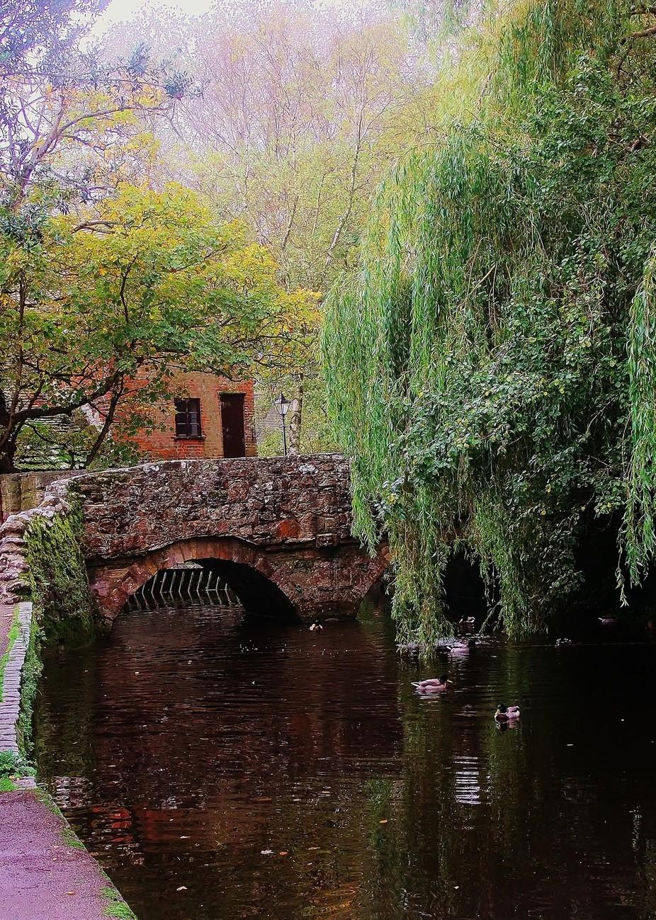 BRIDGE AND WATERMILL