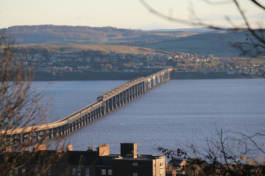 Tay Rail Bridge from Balgay Hill