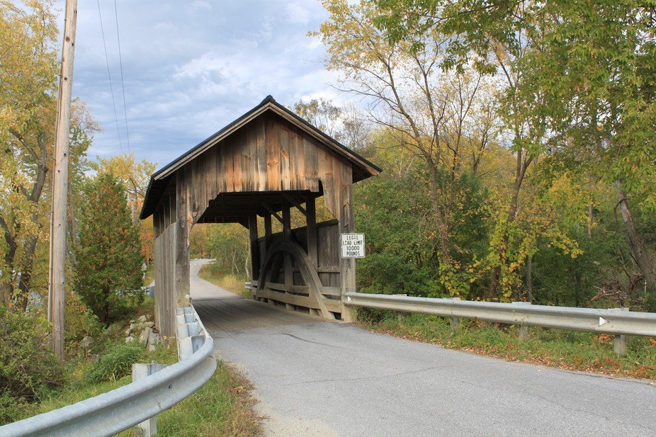 A covered Bridge in VT.