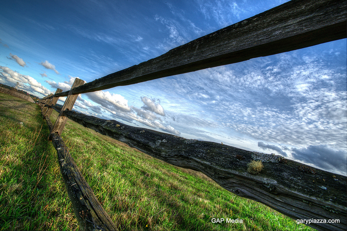 Fort Vancouver Fence Line by gappman - Composing with Diagonals Photo Contest