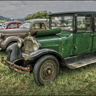 I couldn't resist another 'car shot'!  I just love these oldies!! This shot was taken at a recent agricultural show.  This section was for owners of these beautiful vintage cars to show off their pride and joy!  If you too are a vintage car enthusiast...enjoy! ;)