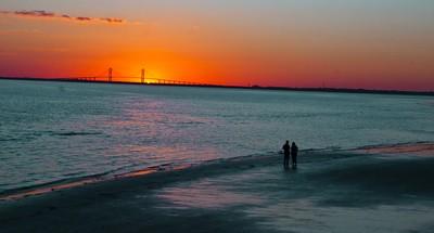 Sun Set Sidney Lanier Bridge