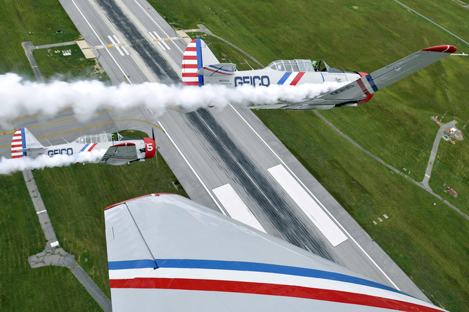 Formation flying by perryaston - Aircraft Photo Contest