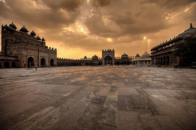 Sunrise @ Fatehpur Sikri, Agra, India