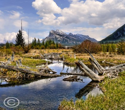 Banff Mount Rundle