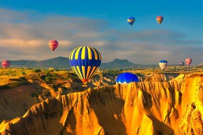 Floating over Cappadocia I