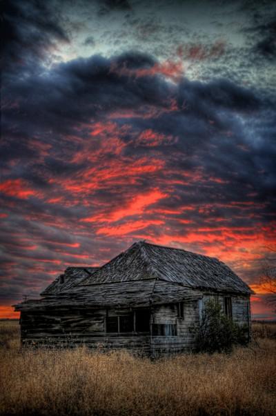 Shake House in Sunset