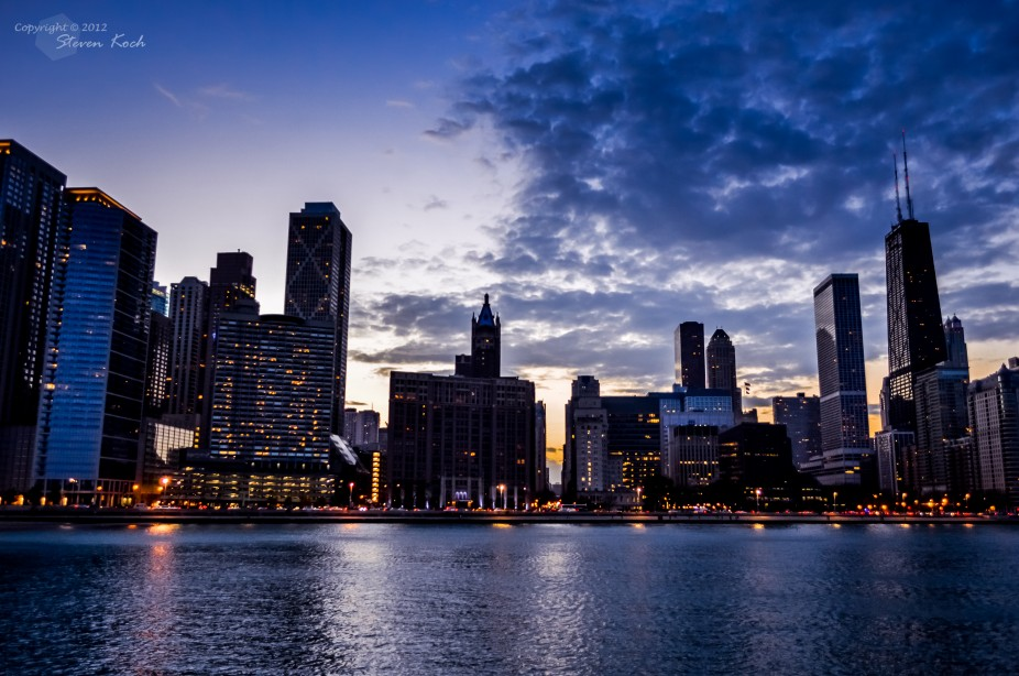Chicago Lakeview Skyline