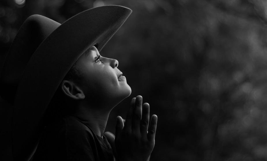 Praying Cowboy-88