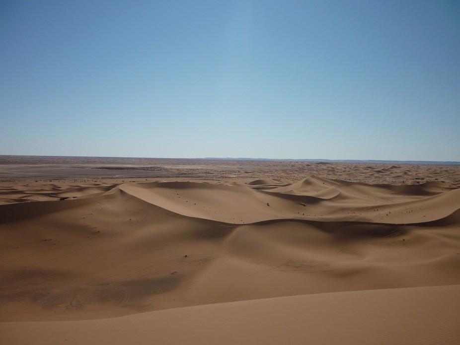 Sahara Desert...never ending