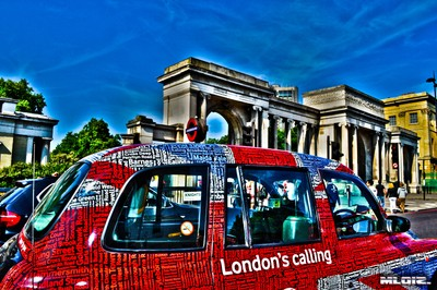 London's calling cab