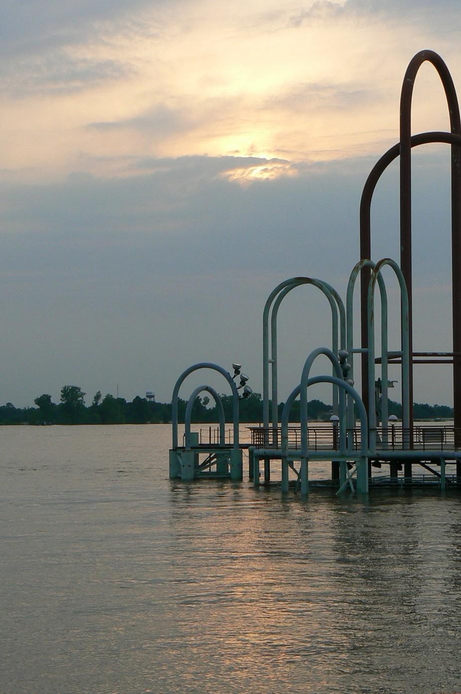 Mississippi River in Baton Rouge, LA