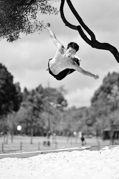 Capoeira Jump