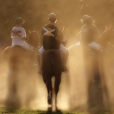 Evening polo game @ San Pancho