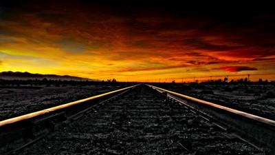Desert Sunset..