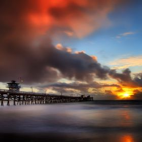 Looking for a great sun set for the new year and found this just after a nice little rain storm. I used a 6 stop ND filter to get the motion of t...