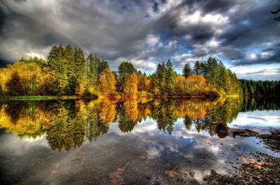 Round Lake Reflections