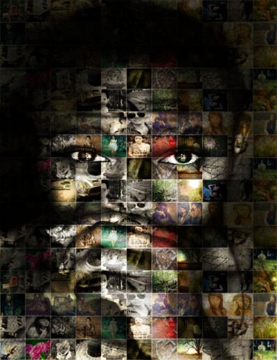 Mosaic of The Photographer