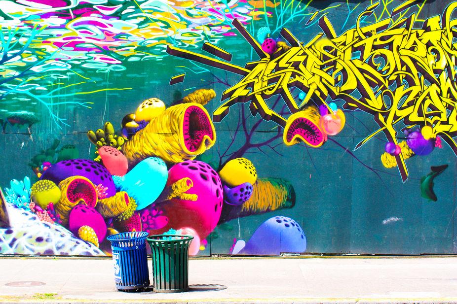 Graffiti art in Seattle
