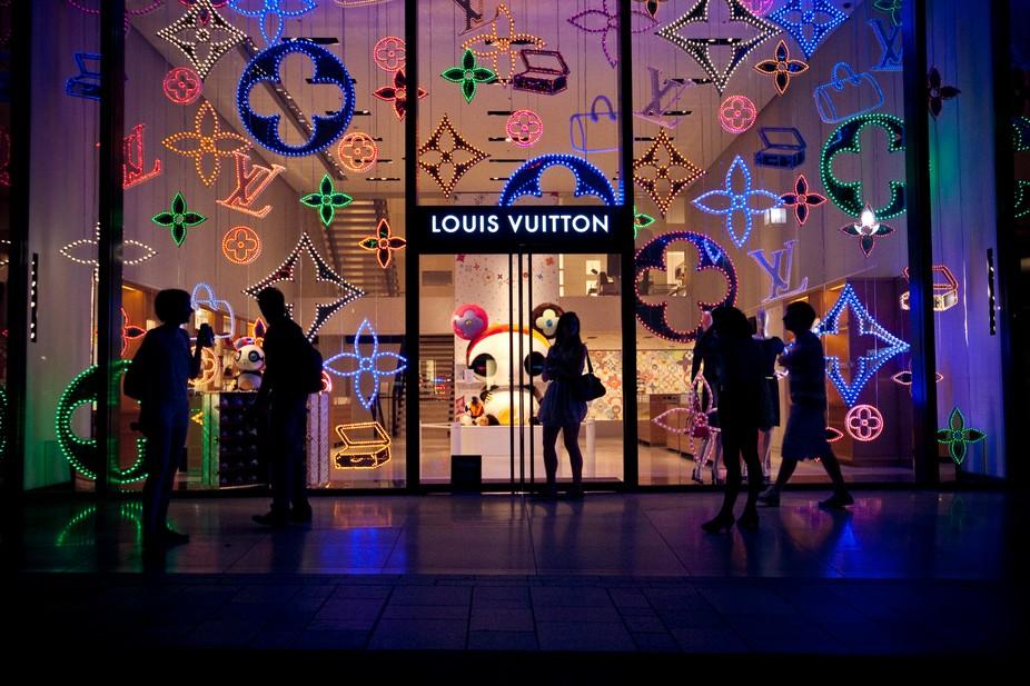 Louis Vuitton store in Harajuku