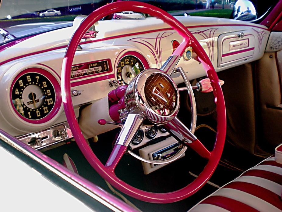 Bonus.. tiny little look-a-like under the steering wheel!