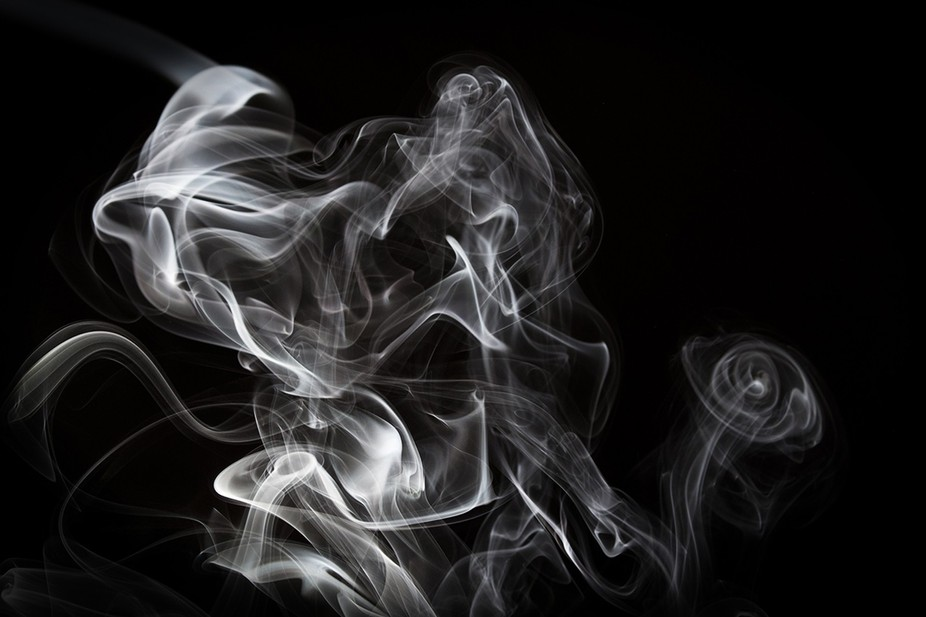 playing with smoke, I thought this one looked like a couple dancing.