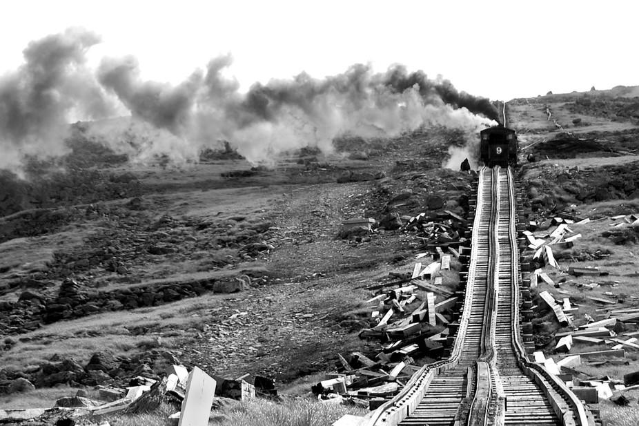 Black & White Train