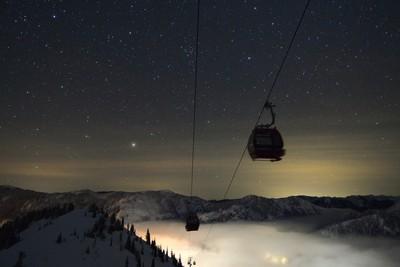 Gondola in the Stars