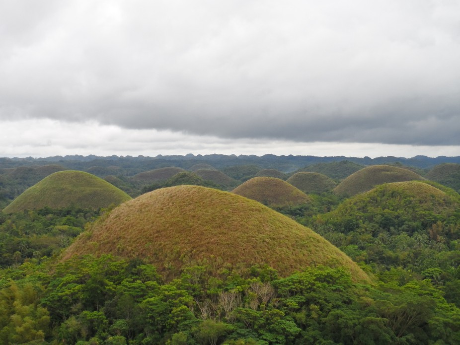 I took this shot at one of the hills in Chocolate Hills which is of the most incredible view. I u...