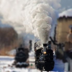 1800's vintage steam locomotive
