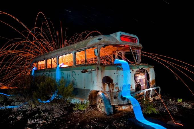 Escape_the_Bus_150812 by liamschulze - Playing With Light Photo Contest