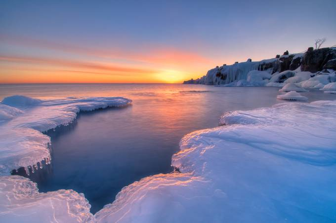 Icy Morning by blurrr001 - Winter Landscapes Photo Contest