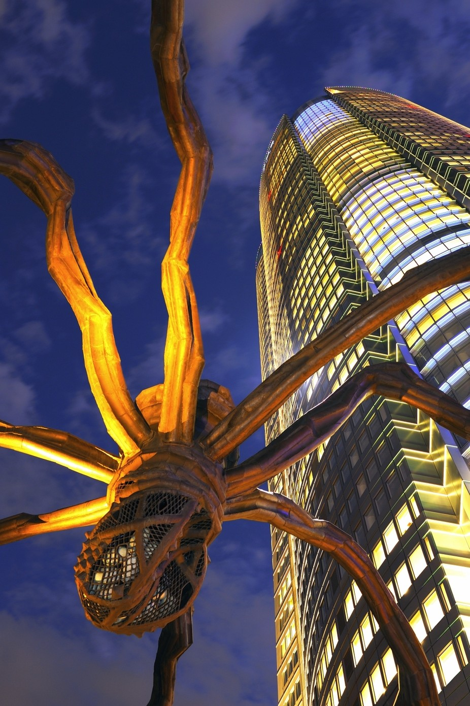 The spider sculpture by lekahuie - The Magic Of Japan Photo Contest